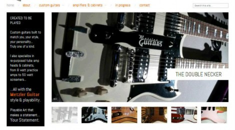 Metzler Guitars launches new site...