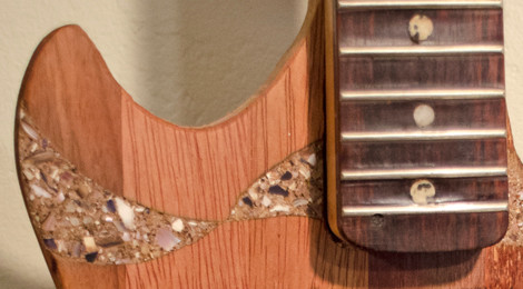The Shell-Inlay Guitar...